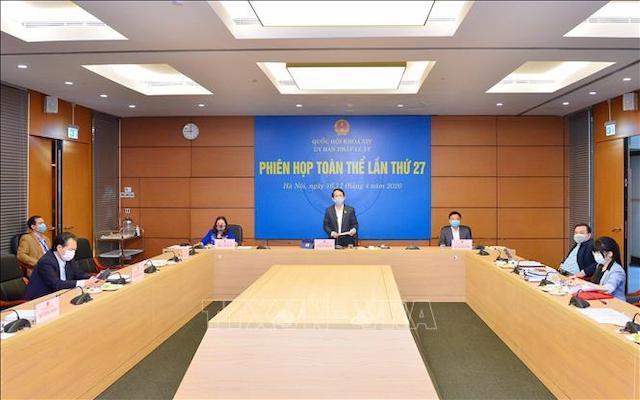 Ủy ban Pháp luật cho ý kiến về chương trình xây dựng luật và pháp lệnh 2021
