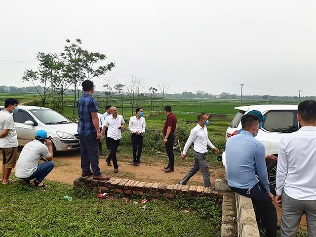Huyện Thạch Thất báo cáo TP Hà Nội về đề xuất xây 2 khu đô thị của Vingroup