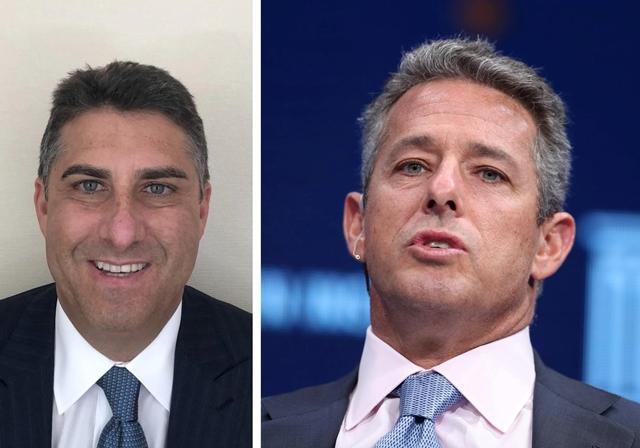 Andrew Sandler và Ricky Sandler. Ảnh: Reuters.