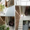 <p> Ngân sách cải tạo rất hạn chế. Do đó, các kiến trúc sư đã tối đa hóa việc sử dụng nội thất cũ.Chiều rộng ngôi nhà khá hạn chế, vì vậy kiến trúc sư đã thiết kế bếp dưới cầu thang với bàn ăn được đặt thẳng dưới giếng trời để tối đa hóa ánh sáng và gió lưu thông vào bên trong.</p>