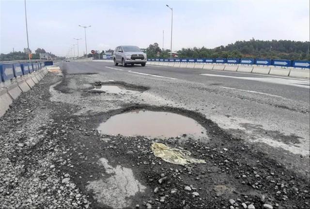 Bộ Công an đề nghị xác định chi phí sửa chữa cao tốc Đà Nẵng-Quảng Ngãi