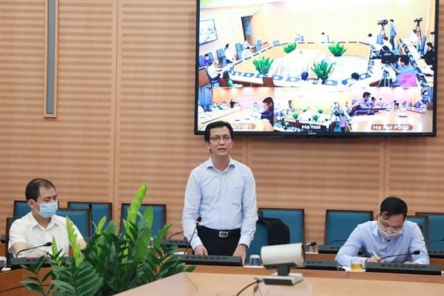 Ông Vũ Đức Tuấn, Phó Tổng Giám đốc Tổng Công ty Cổ phần Chăn nuôi CP Việt Nam miền Bắc. Ảnh: Thùy Linh.