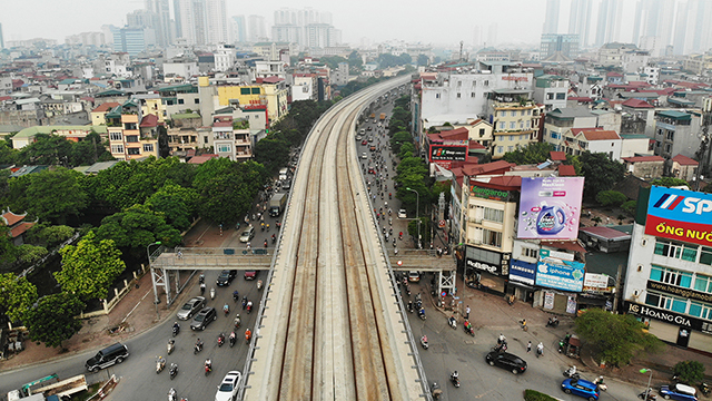 Thông qua chủ trương làm 2 dự án đường sắt đô thị gần 106.000 tỷ đồng tại Hà Nội