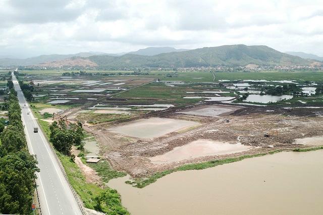 Một phần khu công nghiệp hơn 700 ha tại Quảng Ninh dự kiến được khai thác năm nay