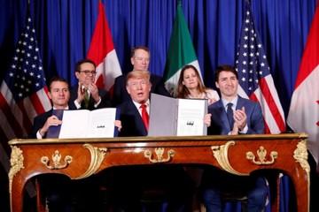 Hiệp định thương mại Mỹ-Mexico-Canada sẽ có hiệu lực từ ngày 1/7