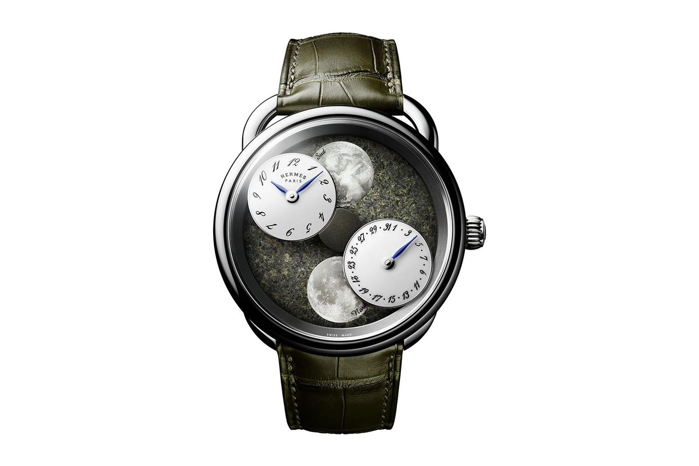 Hermès ra mắt đồng hồ mới có mặt số thiên thạch từ sao Hỏa