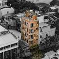"""<p> Hostel (loại hình cư trú giá rẻ thường dành cho """"dân"""" du lịch bụi, có nhiều giường tầng như ký túc xá) nằm ngay khu vực ven biển quận Hải Châu, TP Đà Nẵng.</p>"""