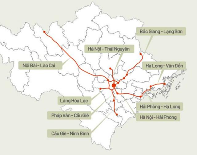 Tại miền Bắc, các KCN tại Hải Dương, Bắc Giang sẽ phát triển nhờ vào đường cao tốc Bắc Giang – Lạng Sơn được đưa vào hoạt động vào T1/20, giúp thời gian di chuyển từ Hà Nội đến biên giới khu vực Lạng Sơn giảm một tiếng so với trước đây. Nguồn: VND Research, VNExpress.