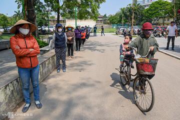 1,4 triệu người Hà Nội được hỗ trợ trong Covid-19