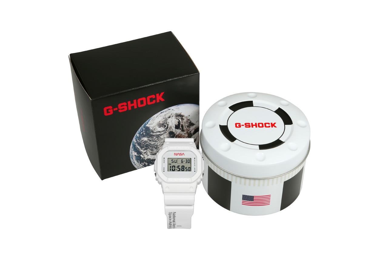 G-SHOCK ra mắt đồng hồ DW-5600 tôn vinh khám phá vũ trụ của NASA