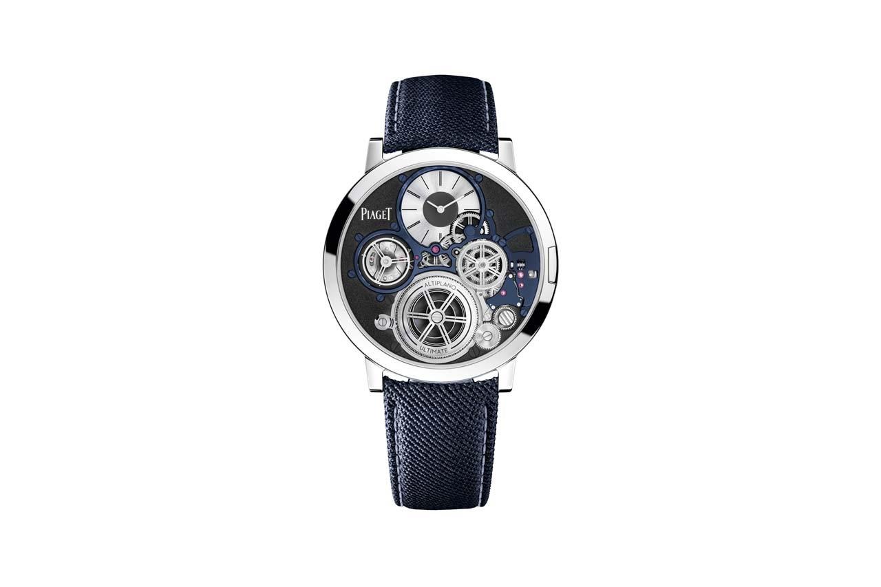 Piaget tung ra chiếc đồng hồ đeo tay cơ học mỏng nhất thế giới