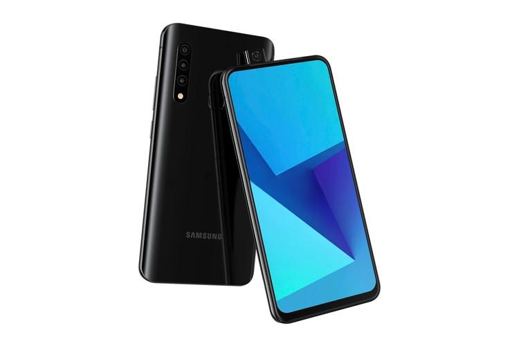Điện thoại mới của Samsung sẽ có camera pop-up?