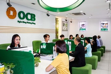OCB lãi gấp đôi cùng kỳ nhờ chứng khoán đầu tư