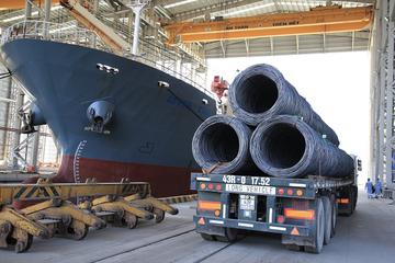 Hòa Phát bán 270.000 tấn thép xây dựng trong tháng 4, tăng 14% so cùng kỳ