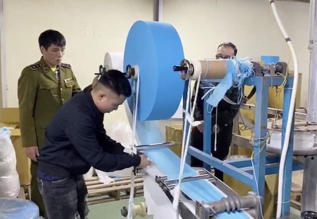 Ngăn chặn nhập dây chuyền lạc hậu để sản xuất khẩu trang