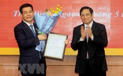 Bí thư Tỉnh uỷ Thái Bình làm Phó Trưởng ban Tuyên giáo Trung ương