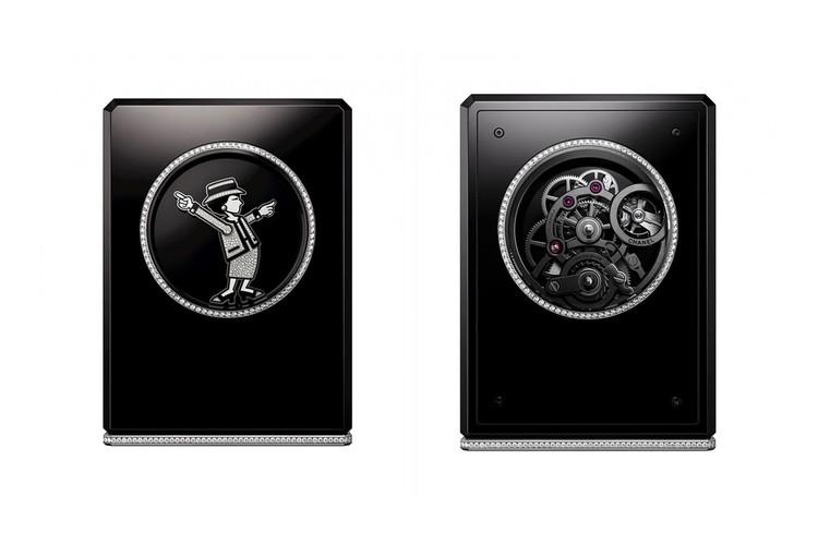 Chanel ra mắt đồng hồ để bàn nạm hơn 400 viên kim cương