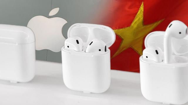 'Apple sẽ sản xuất hàng triệu AirPods tại Việt Nam trong quý này'