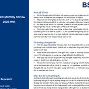 BSC: Vĩ mô và TTCK tháng 4 - Cẩn trọng với kịch bản Sell in May