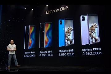 Bphone B86 ra mắt: Không phím bấm, chụp ảnh 'đóng băng khoảnh khắc', giá gần 9 triệu đồng