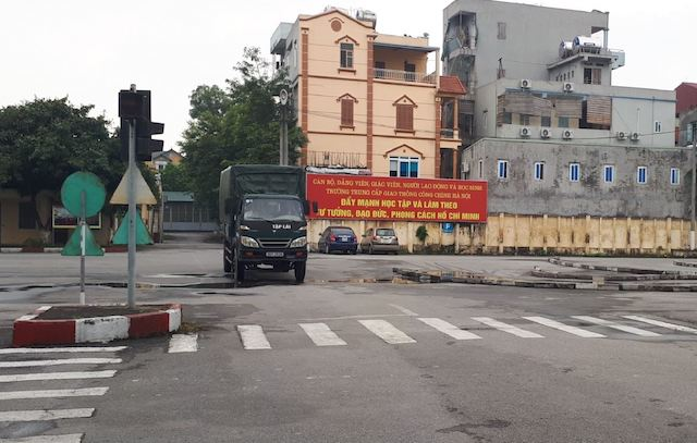 Đào tạo lái xe tại Trường Trung cấp nghề giao thông công chính Hà Nội.