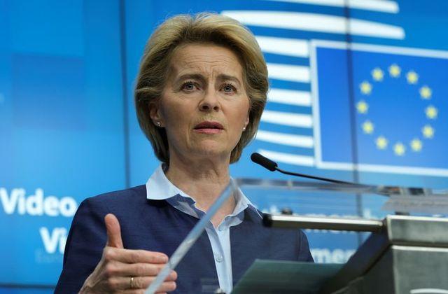 Chủ tịch EC Ursula von der Leyen
