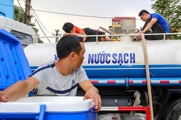 Hà Nội xây dựng kịch bản đảm bảo nước sạch mùa hè