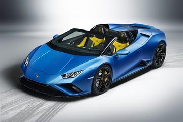 Lamborghini 'biến hoá' Huracán EVO thành mẫu roadster dẫn động cầu sau