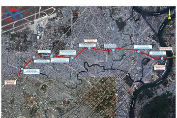 TP HCM rục rịch xúc tiến tuyến metro số 5 gần 39.000 tỷ đồng