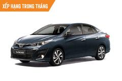 Top 10 ôtô bán chạy tháng 4: Duy nhất Toyota Vios có doanh số trên 1.000 xe