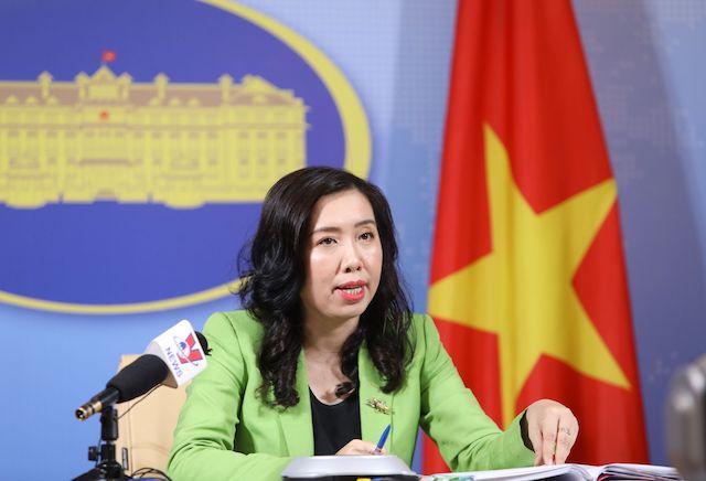 Người phát ngôn Bộ Ngoại giao: Việt Nam được mời điện đàm với 'Bộ tứ kim cương'