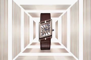 Cartier Privé giới thiệu bộ sưu tập đồng hồ Tank Asymétrique với số lượng giới hạn