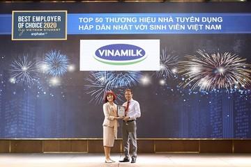Lý do Vinamilk trở thành nhà tuyển dụng hấp dẫn với sinh viên Việt Nam 2020