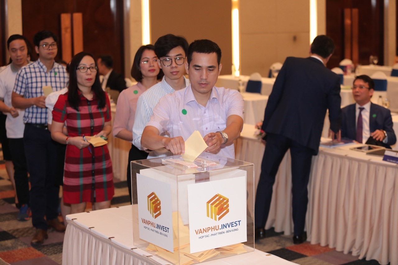 Họp ĐHCĐ Văn Phú: Tăng tốc mở rộng quỹ đất