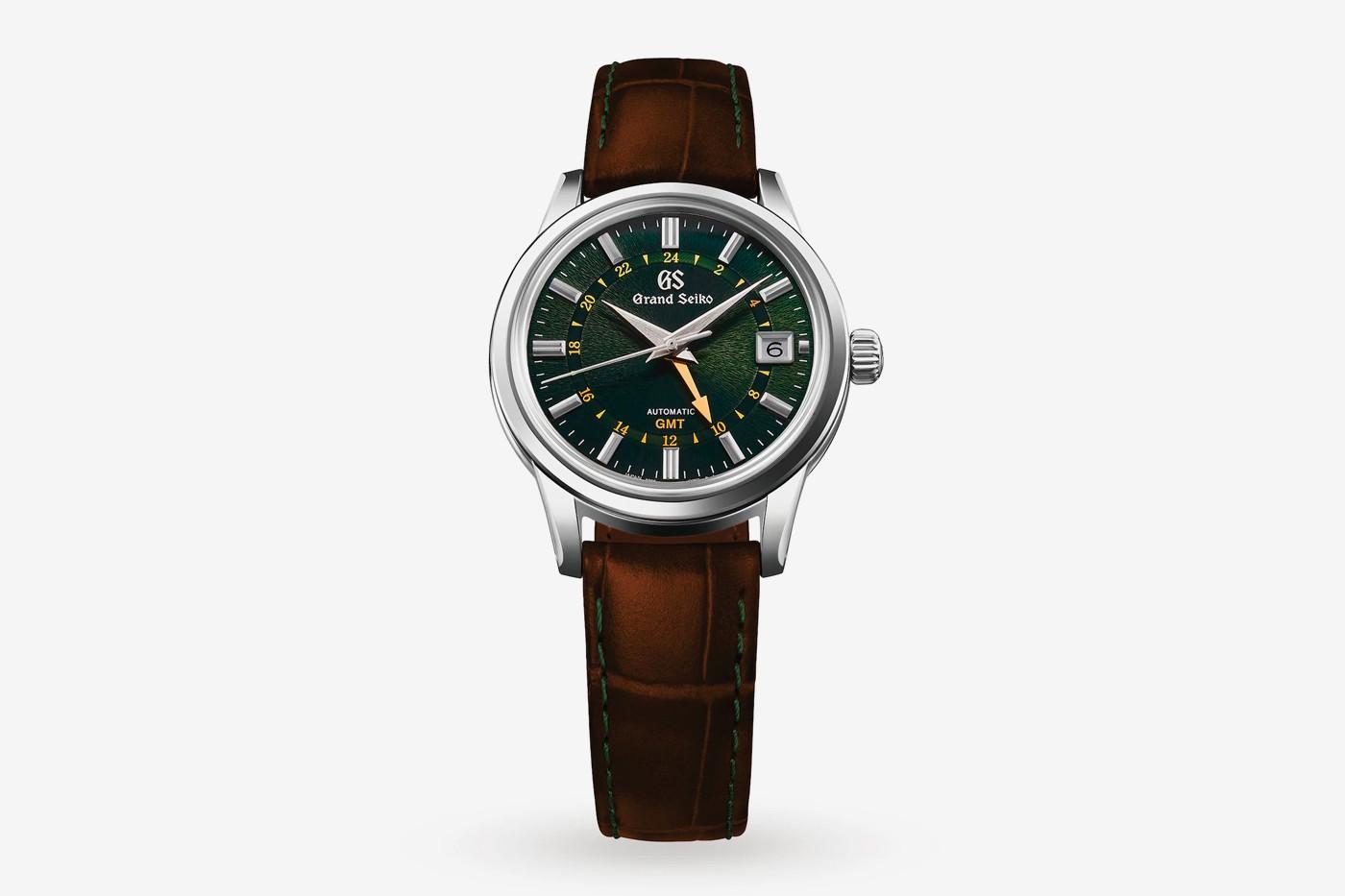 Mẫu đồng hồ Grand Seiko GMT đặc biệt mang dấu ấn Nhật - Anh