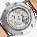 """<p class=""""Normal""""> Mặt sau của chiếc đồng hồ là bản chỉ dẫn tiết lộ những mật mã của Grand Seiko với một phần cỗ máy cơ học bên trong lộ diện cùng những dòng chữ khắc tên tiết lộ kỹ thuật.</p> <p class=""""Normal""""> Hiện mẫu đồng hồ Grand Seiko GMT phiên bản đặc biệt độc quyền cho nhà bán lẻ đồng hồ Anh, Watches of Switzerland đã cho phép đặt hàng trước với giá bán 5.200 USD.</p>"""