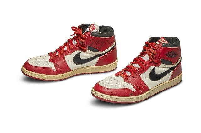 Đôi giày bóng rổ Michael Jordan từng đi lập kỷ lục đấu giá