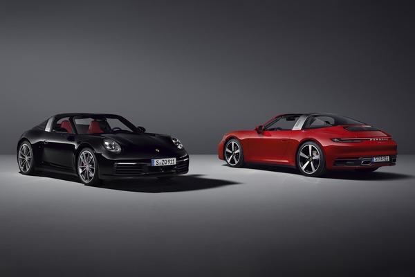 Porsche trình làng 911 Targa 4 và 4S mới