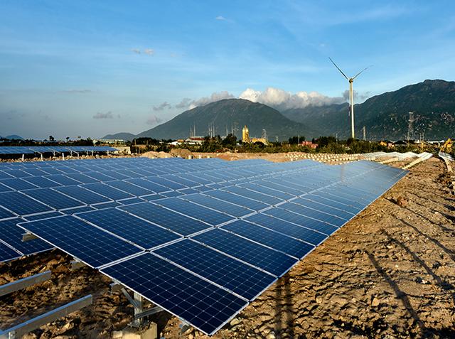 Dự án Điện mặt trời Trung Nam. Nguồn: Trung Nam Group.