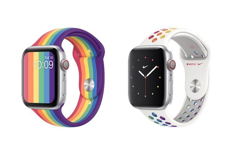 Apple Watch giới thiệu 2 phiên bản dây đeo đặc biệt chào mừng Tháng Tự Hào Pride Month
