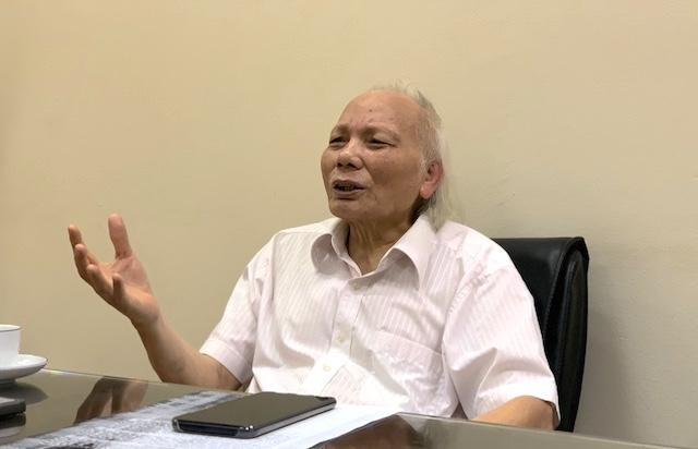 GS TSKH Nguyễn Mại, Chủ tịch Hiệp hội Nhà đầu tư nước ngoài tại Việt Nam (VAFIE).