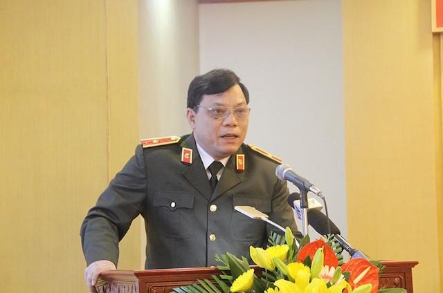 ông Nguyễn Hải Trung nguyên Giám đốc Công an tỉnh Thanh Hóa.