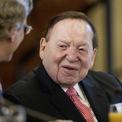 """<p class=""""Normal""""> <strong>Sheldon Adelson - CEO Las Vegas Sands</strong><br /><br /><span>Tài sản: 31,4 tỷ USD</span><br /><br /><span>Nguồn thu nhập: Vận hành casino, Las Vegas Sands</span><br /><br /><span>Quyên góp: 1,16 triệu USD</span><br /><br /><span>Tỷ phú Sheldon Adelson là một trong những nhà tài trợ lớn nhất của Trump. Ông đã chi hơn 25 triệu USD cho cả hai chiến dịch của ông, theo </span><em>Business Insider</em><span>. Ảnh: </span><em>AP</em><span>.</span></p>"""