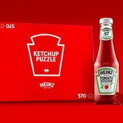 Bộ ghép hình từ thương hiệu sốt cà chua nổi tiếng thế giới 'gây sốt'
