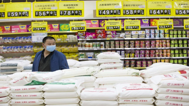 Giá bán nhiều thực phẩm tại Trung Quốc tăng từ năm 2019. Ảnh: Getty Images.