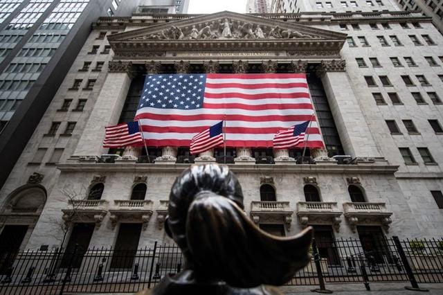 Phố Wall giảm điểm vì căng thẳng Mỹ - Trung gia tăng. Ảnh: Reuters.