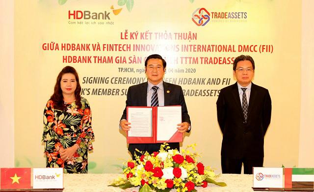 HDBank tham gia sàn giao dịch TradeAssets nhằm số hóa hoạt động tài trợ thương mại
