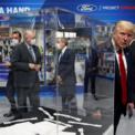 """<p> Tổng thống Donald Trump trong chuyến tham quan nhà máy của Ford tại Ypsilanti, Michigan vào ngày 21/5. Nhà máy này của Ford được chuyển đổi thành nơi sản xuất máy thở và thiết bị bảo hộ cá nhân khi dịch Covid-19 tại Mỹ bùng phát. Ông Trump bị chỉ trích khi không đeo khẩu trang trong chuyến thăm này. Tuy nhiên, người đứng đầu Nhà Trắng cho biết ông đã đeo khẩu trang trong suốt chuyến đi nhưng không đó là những lúc không có ống kính máy quay. """"Tôi không muốn giới báo chí có cơ hội nhìn thấy cảnh đó"""", ông nói. Ảnh: <em>AP</em>.</p>"""