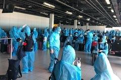 Hơn 300 công dân Việt Nam về nước