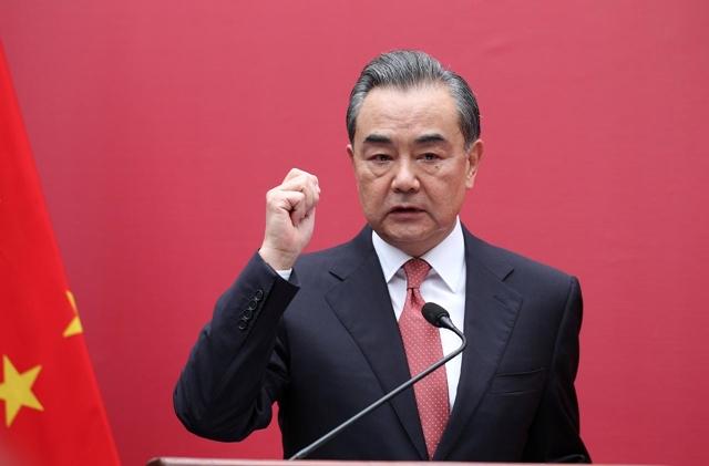 Bộ trưởng Ngoại giao Trung Quốc Vương Nghị. Ảnh: Reuters.